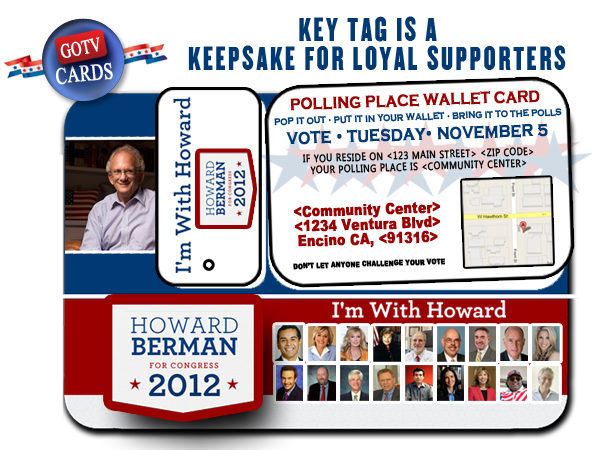 Polling Place Wallet Card