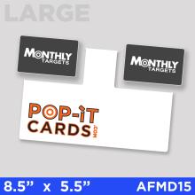 PopItCards_AFMD15_MonthlyTargets_DirectMail