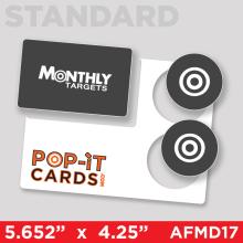 PopItCards_AFMD17_MonthlyTargets_DirectMail