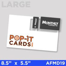 PopItCards_AFMD19_MonthlyTargets_DirectMail