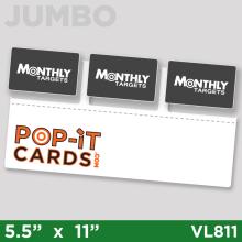 PopItCards_VL811_MonthlyTargets_DirectMail